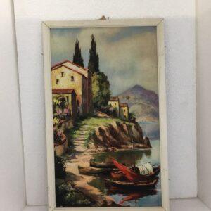 παλιός πίνακας ζωγραφικής