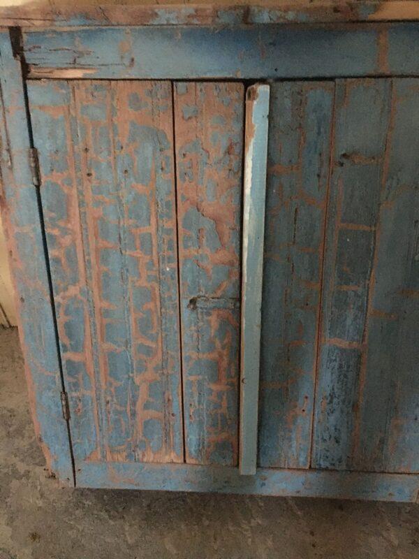 Έπιπλο κουζίνας, ντουλάπι, παλιό ξύλινο vintage