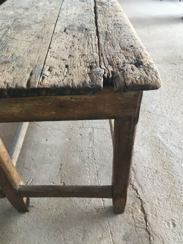Πάγκος εργασίας, τραπέζι φαγητού, παλιό ξύλινο έπιπλο