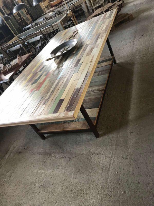 Τραπέζι, τραπεζαρία από παλιά ελληνική ξυλεία,
