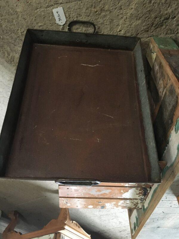 Δίσκος σερβιρίσματος, παλιό μεταλλικό σκεύος