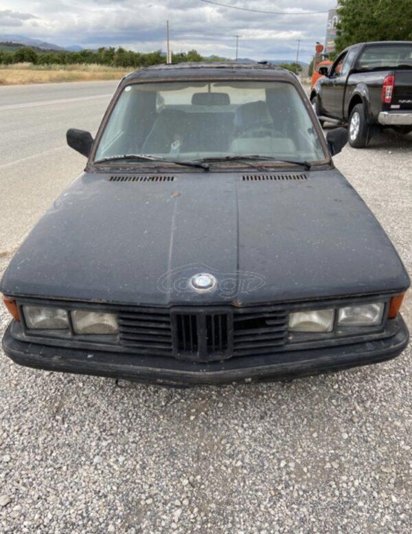 παλιό αυτοκίνητο BMW