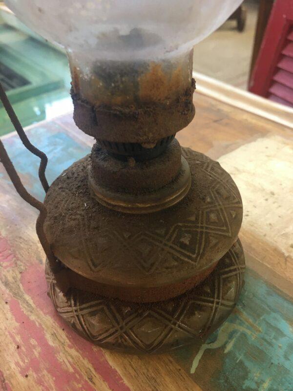 Λάμπα, παλιό ελληνικό γυάλινο σκεύος