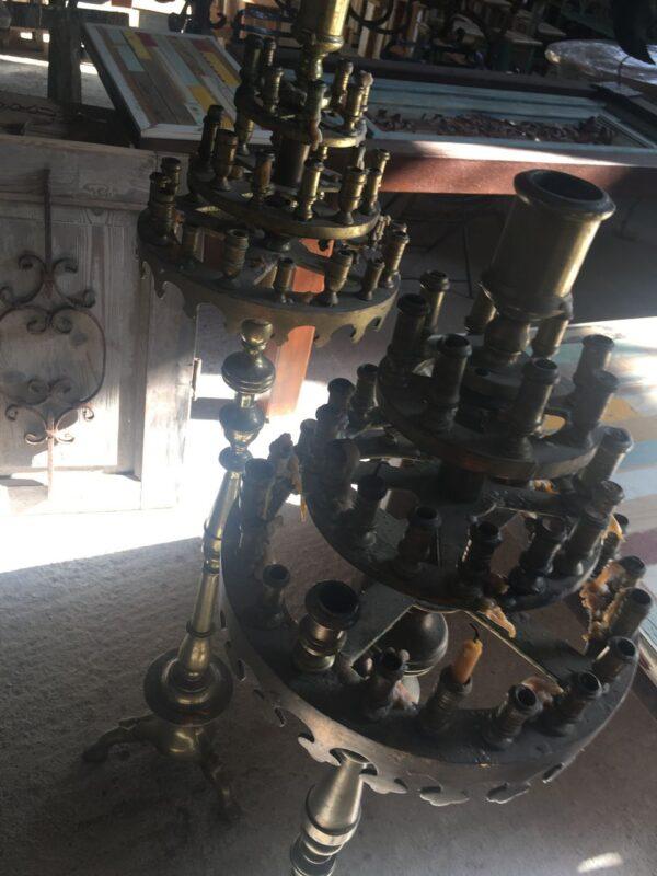 Μανουάλια, παλιά μπρούτζινα εκκλησιαστικά σκεύη