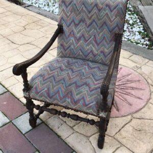 πολυθρόνα μπερζέρα ξύλινο χειροποίητο έπιπλο