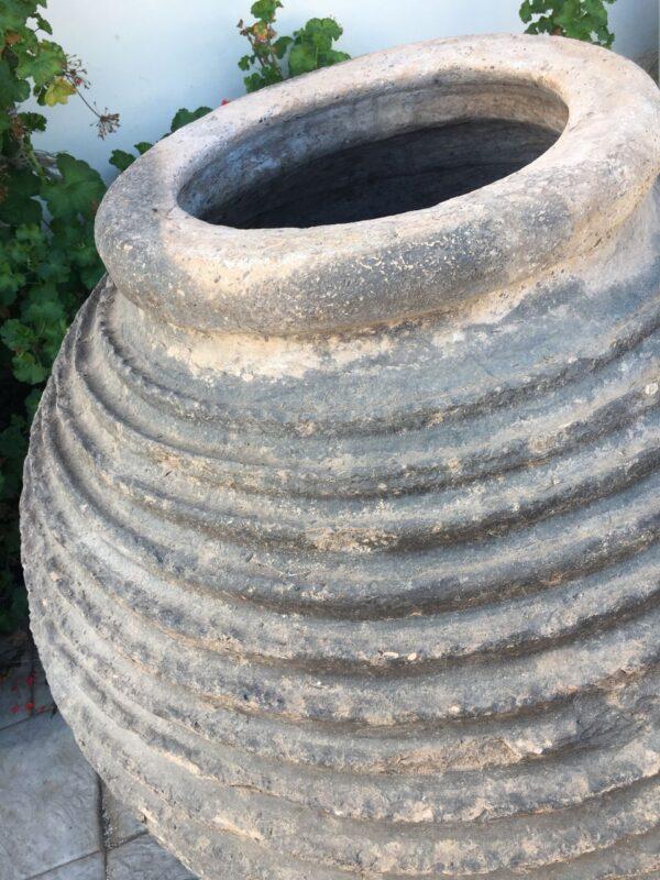 Παλιό ελληνικό πιθάρι, κεραμική τζάρα γίγας
