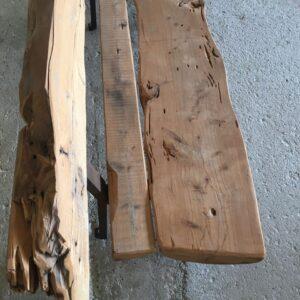 Παγκάκι από μονοκόμματο κορμό δέντρου, κυπαρίσσι 200 χρόνων
