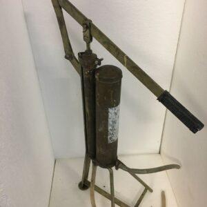 ψεκαστήρα, παλιό μπρούτζινο μηχάνημα αντίκα για vintage διακόσμηση η χρήση
